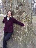 tunde tree hugger in europe.1